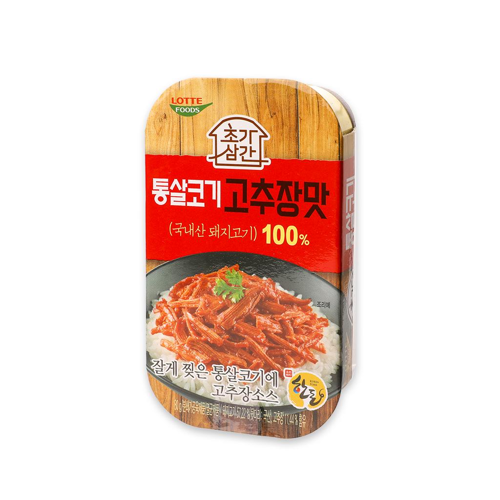 樂天韓式紅椒烤豬肉 80克